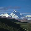Mount Everest (8.848m) from Gyantso-La, Friendship Highway, Tibet