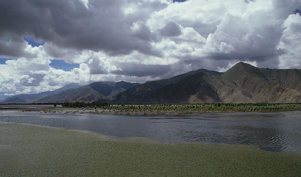 Yamdrok-Tso, Friendship Highway, Tibet