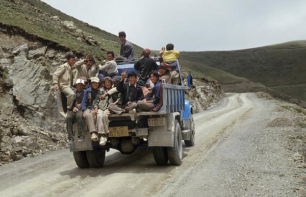 Kamba-La (4.794m), Friendship Highway, Tibet