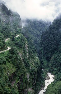 Friendship highway towards Nepal border, Tibet