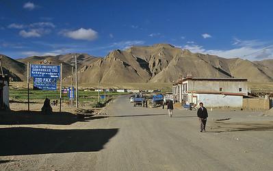 Shegar, Friendship Highway, Tibet