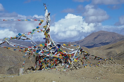 Tso-la (4.950m), Friendship Highway, Tibet