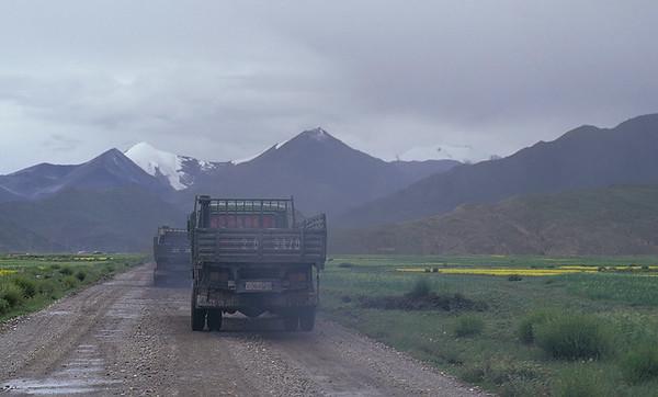 Nagartse, Friendship Highway, Tibet