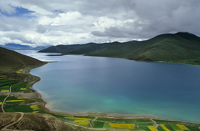 Yamdrok-Tso, Friendship Highway, Tibet