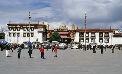The Jokhang Temple, Lhasa, Tibet