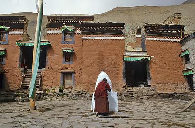 Rongbuk monastery, Everest base camp, Tibet