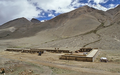 Rongbuk lodge, Everest base camp, Tibet