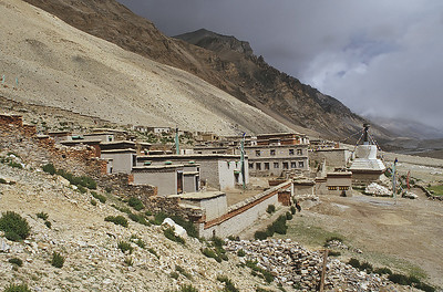Rongbuk monastery, Everest base camp, Tibet