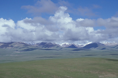 On the way from Golmud to Lhasa, Qinghai, China
