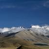 Gyachung Kang (7.952m) and Cho Oyu (8.201m) from Tingri, Tibet