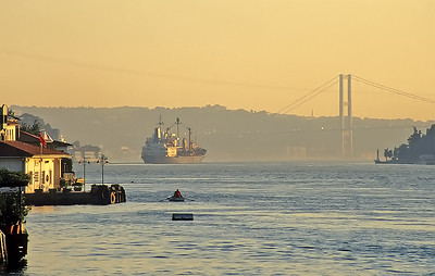 Bosphorus Channel, Istanbul, Turkey