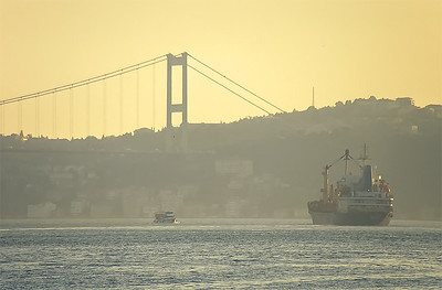 Bosphorus Channel, Bosphorus bridge, Istanbul, Turkey
