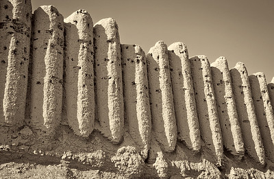 The ruins of the ancient Merv, Turkmenistan, Silk Road