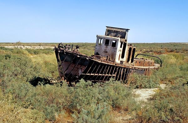 Moynaq and Aral Sea