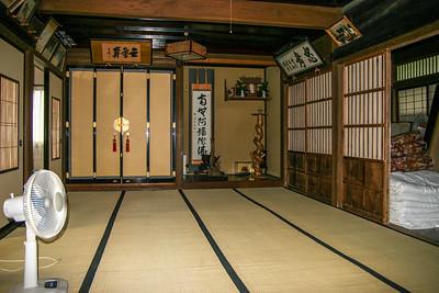 The house where we stayed, Ainokura, Japan