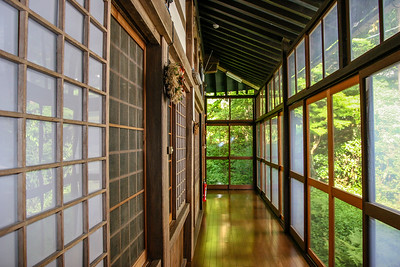 Youth hostel, Takayama, Japan