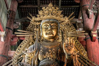 Tōdai-ji temple, Nara, Japan