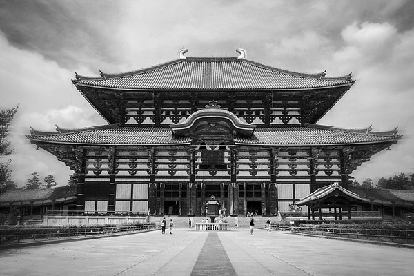 Tōdai-ji temple, Nara, Japan