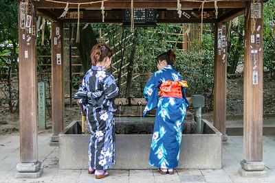 Yasaka-jinjia temple, Kyoto, Japan