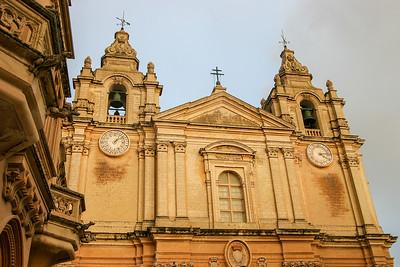 St. Paul's Cathedral, Mdina, Malta