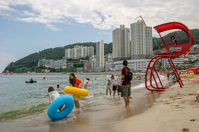 Songdo beach, Busan, Republic of Korea