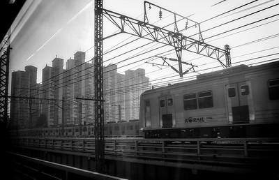 Random shot from a train window, Republic of Korea
