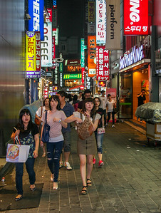 Myeong-Dong, Seoul, Republic of Korea