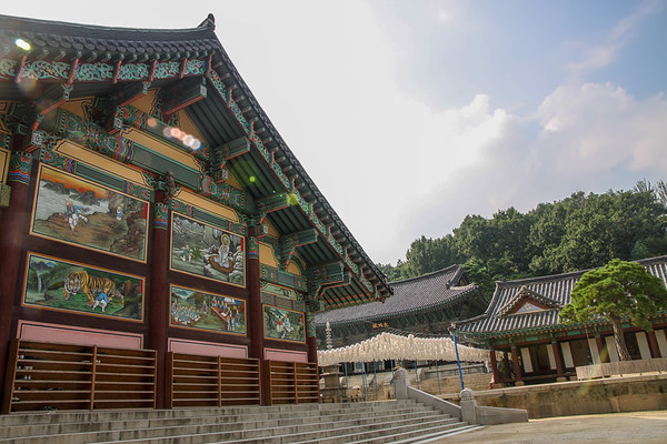 Bongeunsa temple, Seoul, Republic of Korea