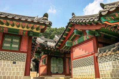 Changdeokgung temple, Seoul, Republic of Korea