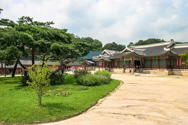 Changdeokgung temple, Seoul, Republic of Korea