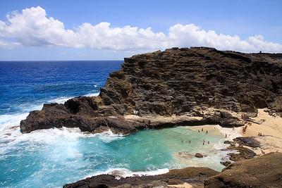 Halona Cove, Oahu, Hawaii