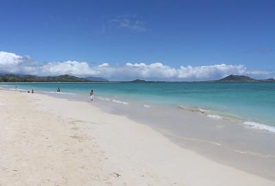 Kailua beach park, Oahu, Hawaii