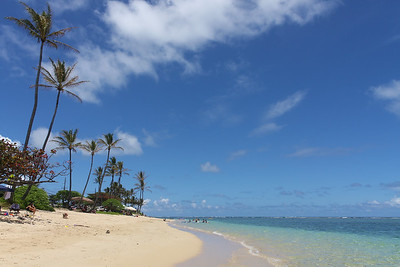 Punaluu, Oahu, Hawaii