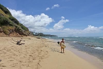 Diamond Head beach park, Oahu, Hawaii