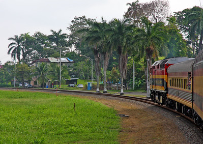 The Panama canal train, Panama
