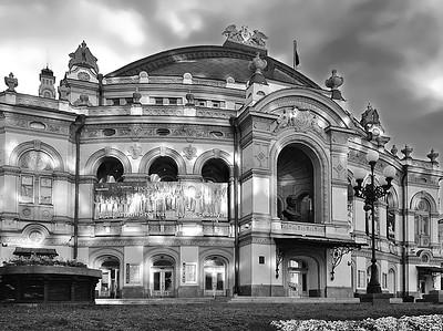 Natsionalnaya opera Ukrainy, Kyiv, Ukraine