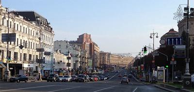 Khreshchatyk street, Kyiv, Ukraine