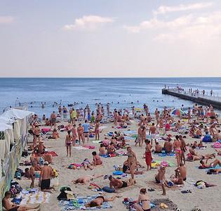 Arkadia beach, Odessa, Ukraine