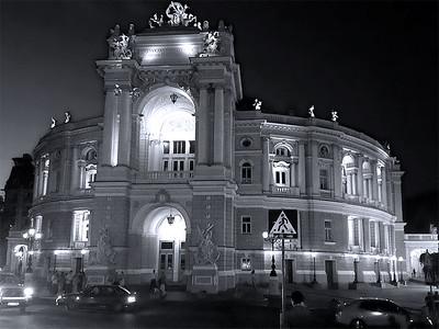 Opera house, Odessa, Ukraine