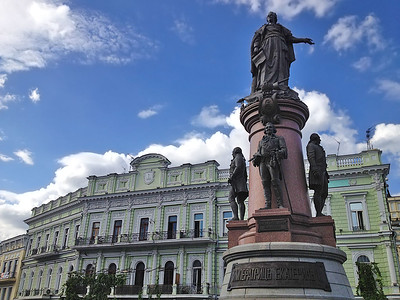 Catherine the Great, Odessa, Ukraine