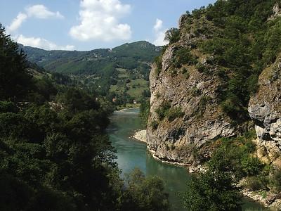Around Berane, Montenegro