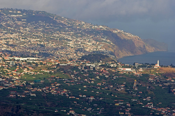 View over Funchal from Cabo Girão, Madeira