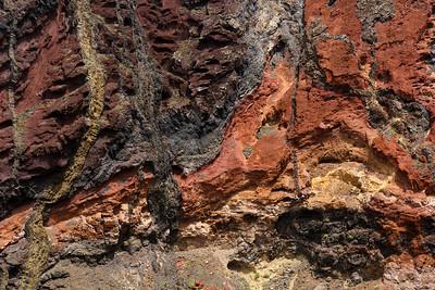Volcanic rocks in Porto Santo