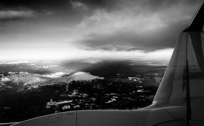 Landing in Seattle, USA
