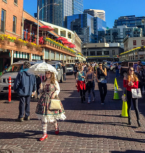 Pike Place market, Seattle, USA