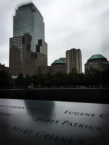 9/11 Memorial, World Trade Center, New York City, USA