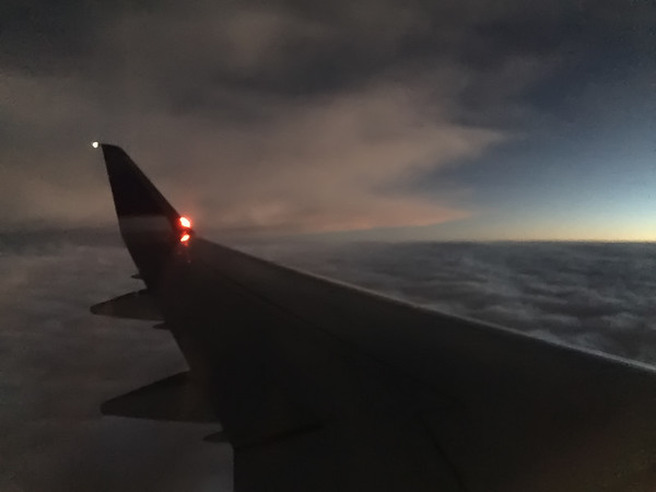 Flying from Philadelphia to Houston, USA
