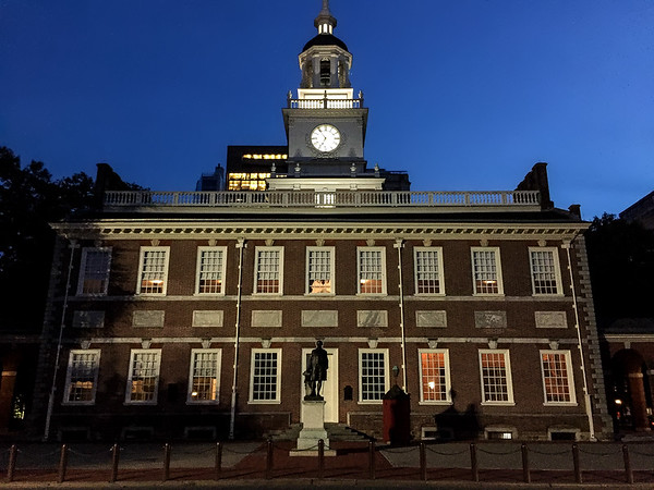 Independence Hall, Philadelphia, PA, USA