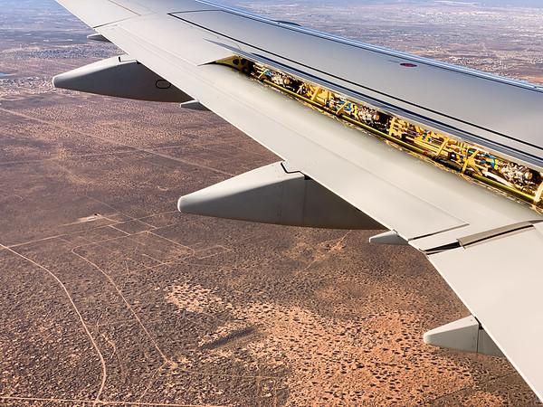 Landing in El Paso, TX, USA