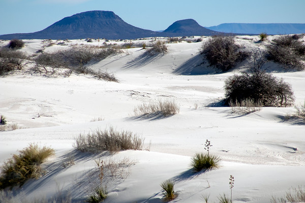 White Sands National Monument, NM, USA